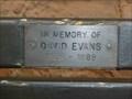 Image for David Evans, St Bartholomew's, Grimley, Worcestershire, England