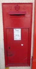 Image for Victorian Post Box - Clifton Street, Cardiff, Wales, UK