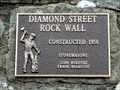Image for Diamond Street Rock Wall - 1958 - Trail, BC