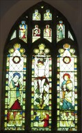 Image for East Window, St Bartholomew's Church, West Witton, N Yorks, UK