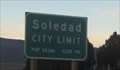 Image for Soledad, CA - 190 ft