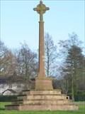 Image for Christian Cross - Barlaston War Memorial - Barlaston, Stoke-on-Trent, Staffordshire, UK.