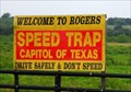 Image for Speed Trap - Rogers, Texas