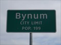 Image for Bynum, TX - Population 199