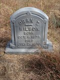 Image for Oran T. Wilson - Hardy Cemetery - Hardy, TX