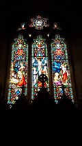 Image for Stained Glass Windows - St Mary - Iwerne Courtney, Dorset