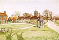 "Image for ""The Village Green, Westmill"" by Irene Hawkins – Green, Westmill, Herts, UK"