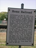 Image for Rome Railroad - Bartow Co., GA