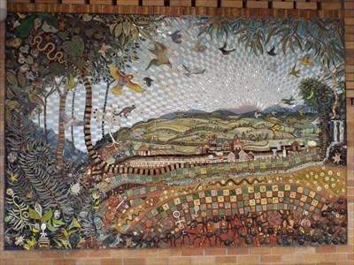The full mosaic. 1406, Sunday, 16 December, 2018