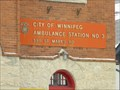 Image for Ambulance Station No. 3 - Winnipeg MB