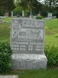 Image for J. Francis Appleby - DeWitt Evergreen Cemetery - DeWitt, Mo.
