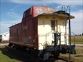 Image for DT&I caboose - Malinta,Ohio