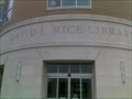 Image for David L. Rice Library - Evansville, IN