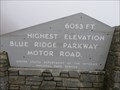 Image for Blue Ridge Parkway - Highest Point - North Carolina, USA.