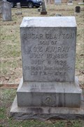 Image for Oscar Clayton Ray -- Oak Grove Cemetery, Nacogdoches TX