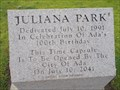 Image for Juliana Park Time Capsule - Ada, OK