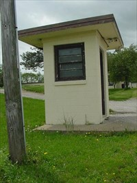Guard House, Nike Missile Site, SL-40 - Hecker, Illinois