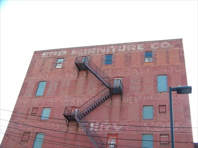 Epp Furniture Company Erie Pa Ghost Signs On