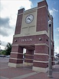 Image for Euline Brock Downtown Denton Transit Center Clock - Denton, TX