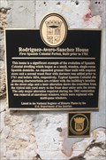 Image for Rodriquez~Avero~Sanchez House-First Spanish Colonial Period, Built prior to 1761