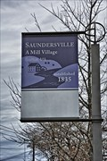 Image for Saundersville A Mill Village - Grafton MA