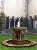 Image for Löwen am Brunnen im Brunnen im Kreuzgang - Maria Laach - RLP - Germany