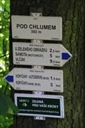 Image for Rozcestnik (Pod Chlumem - 392m) - Liskovec, Czech Republic
