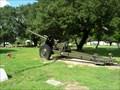 Image for Howitzer - Tyler Memorial Park Cemetery