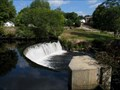 Image for Old Stone Dam, Man-made waterfall, Hope Valley RI