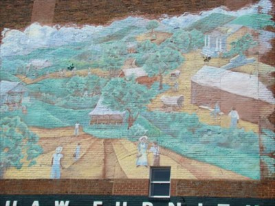 Country Life Mural Caldwell County North Carolina Murals On