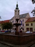 Image for Fountain Square in Rokycany, Czech Republic, EU