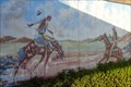 Image for Cowboy Mural - Route 66,  McLean, Texas, USA.