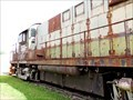Image for BC Rail Locomotive 586 - Prince George, BC