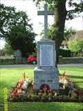 Image for World War One Memorial, Westfield, East Sussex