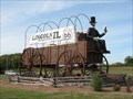 Image for World's Largest Covered Wagon, plus Abe - Lincoln, IL