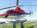 Image for Hélicoptère de Bell.   -Mirabel.   -Québec.