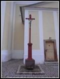 Image for Kríž u kostela sv. Vavrince - Cerná Hora, Czech Republic