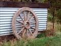 Image for Wagon wheel - Cape Jervis, SA, Australia
