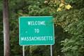 Image for Massachusetts/Rhode Island Border Sign Rt 96