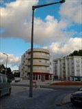 Image for Two lamp posts in the middle of the road - Fátima, Portugal