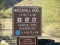 Image for Waterfall Barrier Free Trail, White Tank Park - Waddell, AZ