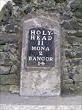 Image for A5 Milestone (Bangor 14), Gwlachmai Uchaf, Ynys Môn, Wales