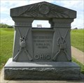 Image for Crossed Muskets of the 32nd Ohio Infantry Monument - Vicksburg National Military Park, Mississippi