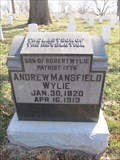 Image for LAST -- Son of the Revolution in Kansas, Leavenworth Nat. Cem, Leavenworth KS