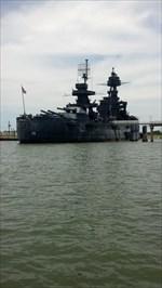 "Last of the ""Dreadnoughts"" - USS TEXAS (BB 35), LaPorte TX WMG2XQ"