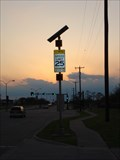 Image for Solar Powered Speed Limit Sign - North Richland Hills Texas
