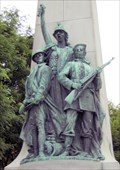Image for Columbia with Sailor and Doughboy - Manchester, NH