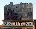 Image for Stilton - (Northern sign), Stilton, Cambridgeshire, UK.