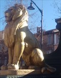 Image for Lions assis Fontaine monumentale - Vidauban, Var, France
