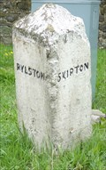 Image for Milestone - Corner of Sour Lane and Skipton Road, Thorlby, Yorkshire, UK.